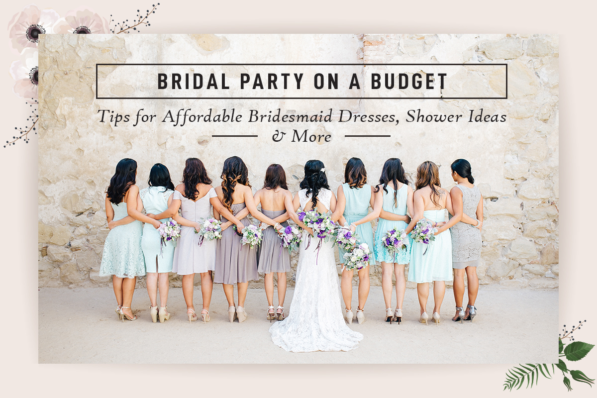 Bridal Party on a Budget