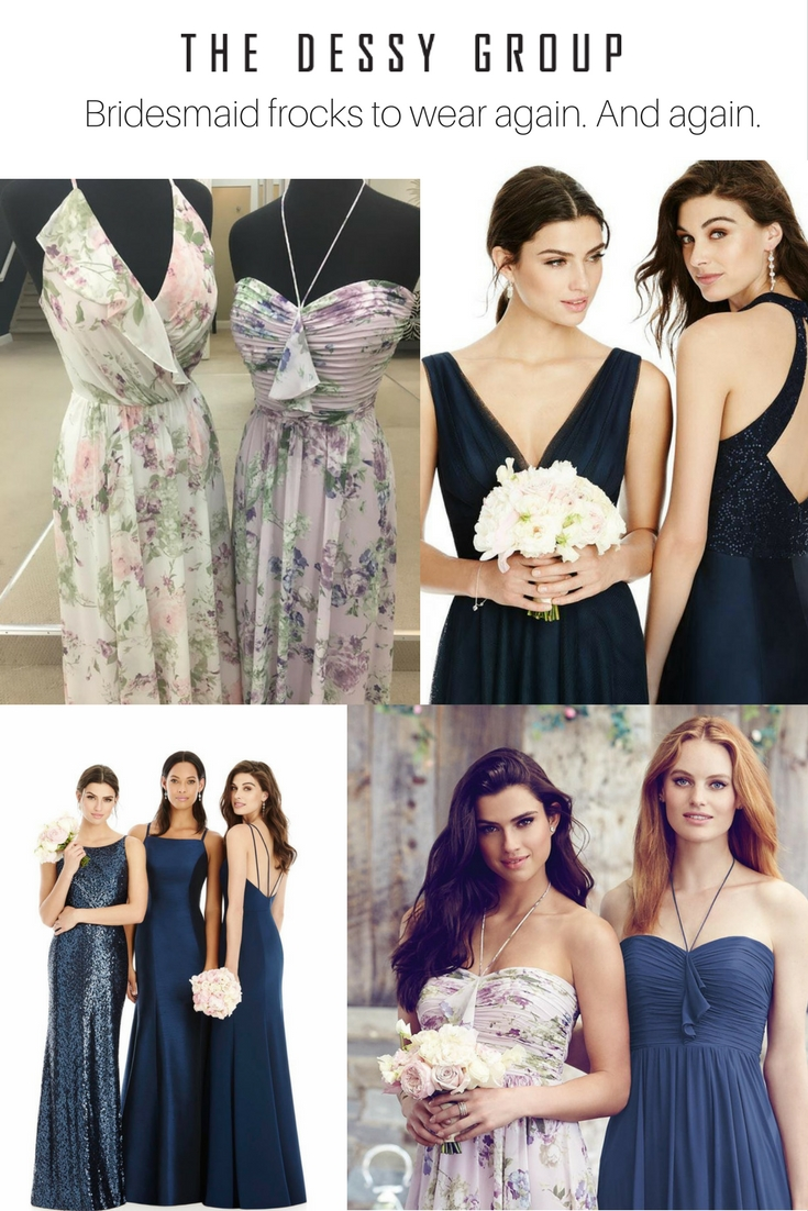 Elegant Sophisticated Flattering Bridesmaid Dresses Your Maids Will Be Wearing To Parties Long After Wedding Day