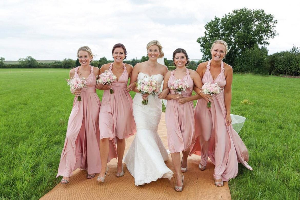 Ombre bridesmaids dresses and other ombre wedding delights and you can also choose different styles of bridesmaid dresses so that youre flattering each girls figure to best effect ombrellifo Gallery