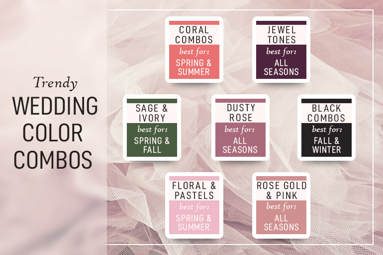 Say I Do To Your Wedding Hues The Ultimate Guide To Choosing Wedding Colors