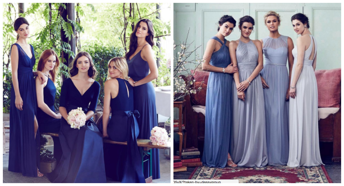 Pale blue bridesmaid gowns you\'ll want to keep for yourself