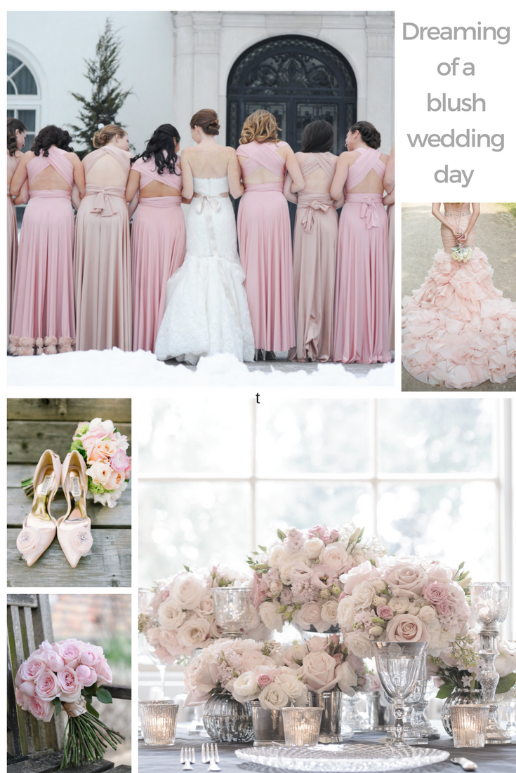 Blush pink bridesmaid dresses all girls will want to wear ombrellifo Images