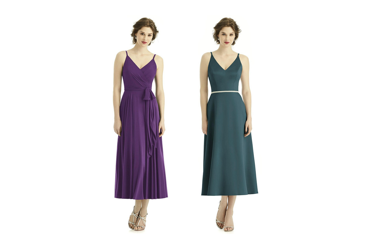 affordable midi dresses for bridesmaids