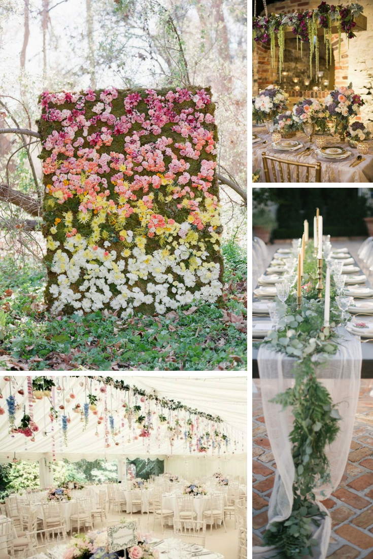floral wedding trends