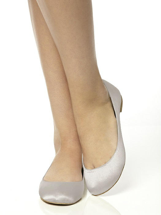 Satin Wedding Ballet Flats