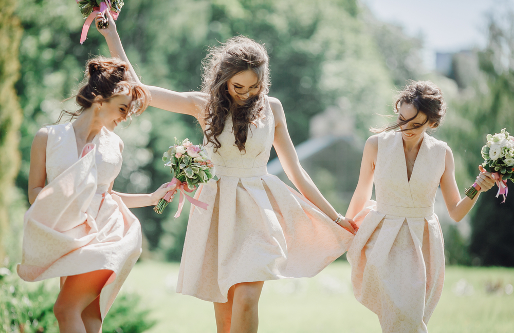 Short Dresses for Petite Bridesmaids