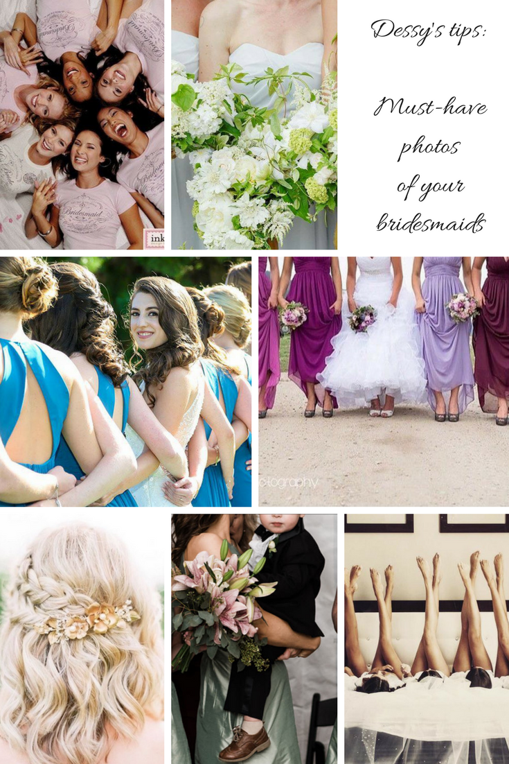 must-have photos of bridesmaids