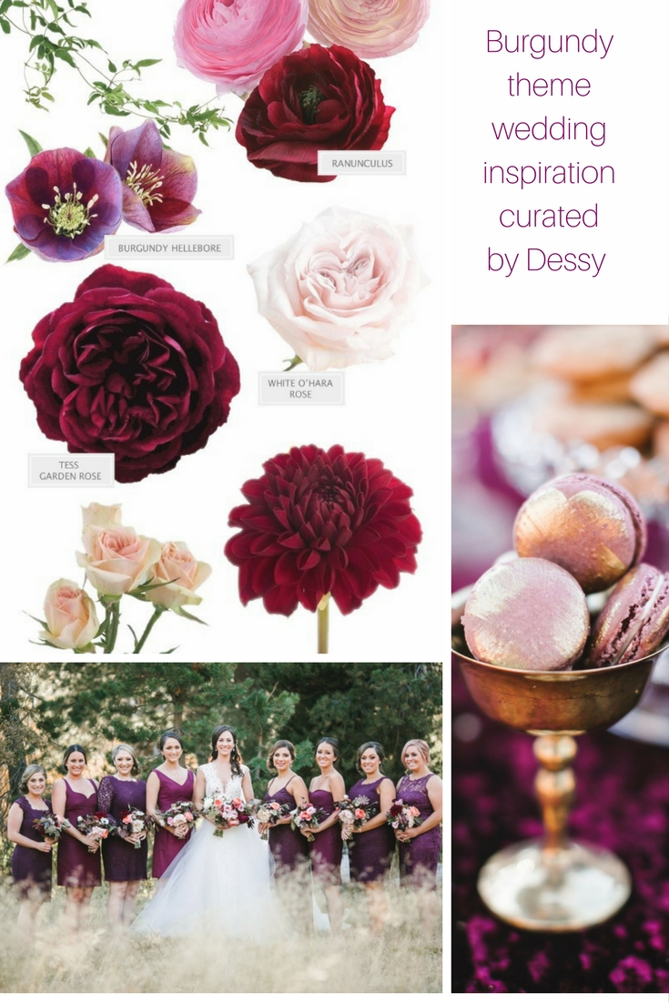 And This Is Why Youll Want A Burgundy Wedding Theme