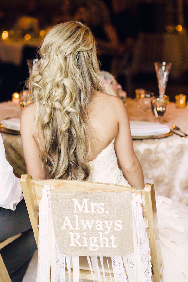 bride and groom chair ideas