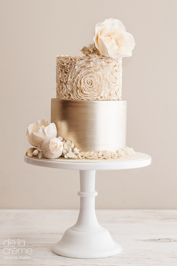 gold wedding theme