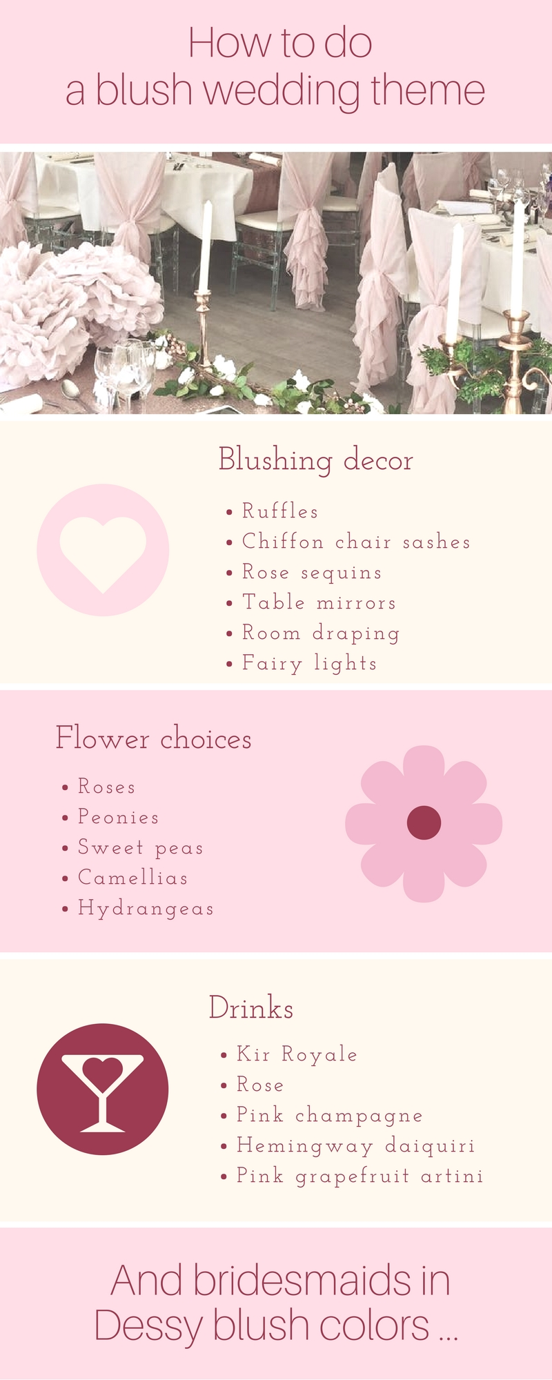 The dessy group the spot for all things bridesmaid blush for your bridesmaids ombrellifo Images