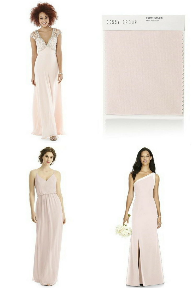 The dessy group the spot for all things bridesmaid you never really know whats going to suit until you put a color sample up against your face and dessy makes it easy for you to do this with its color ombrellifo Image collections
