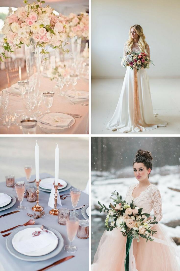 Secrets for a rose quartz wedding day theme