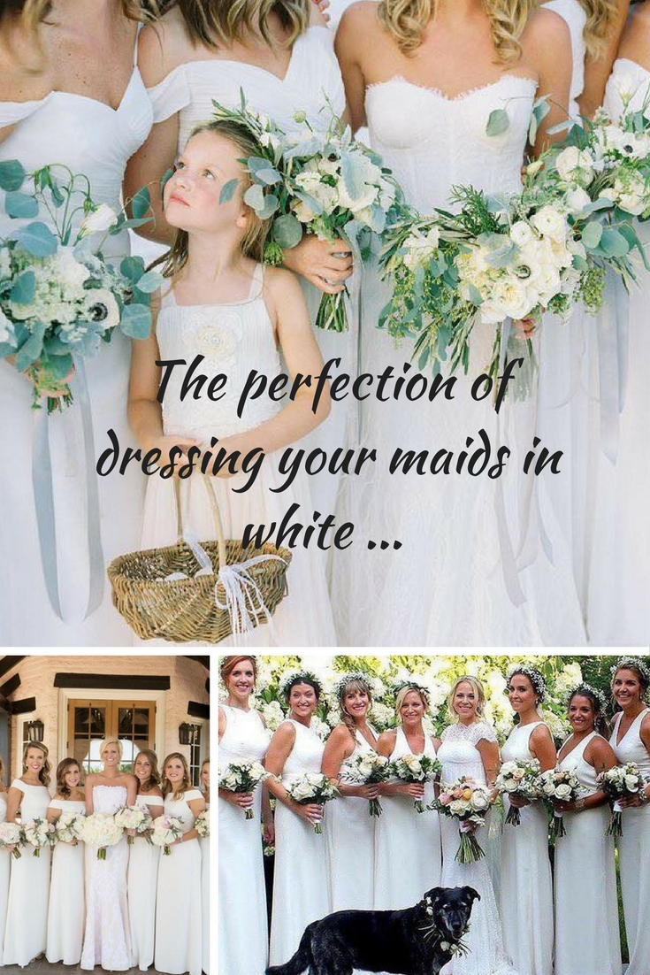 The dessy group the spot for all things bridesmaid dress your bridesmaids in white really oh yes ombrellifo Image collections