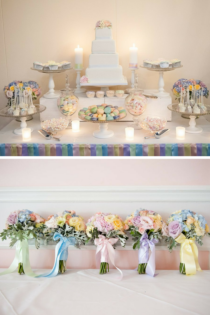 Which Pastel Wedding Color Matches Your Personality