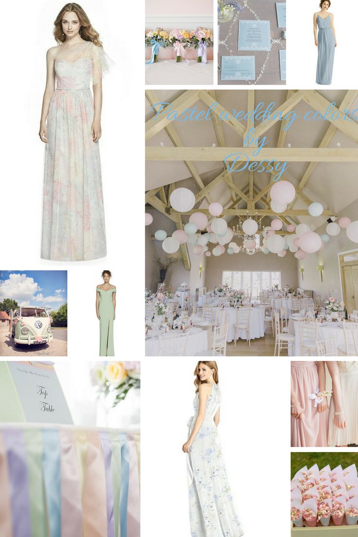 Which pastel wedding color matches YOUR personality?
