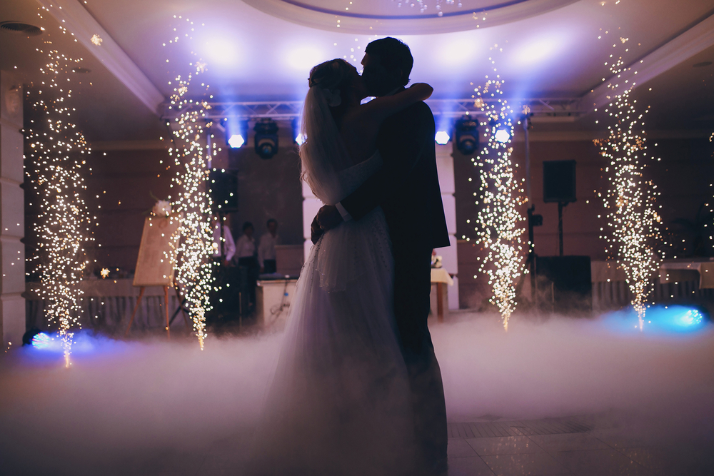 wedding music and dancing - couple's first dance