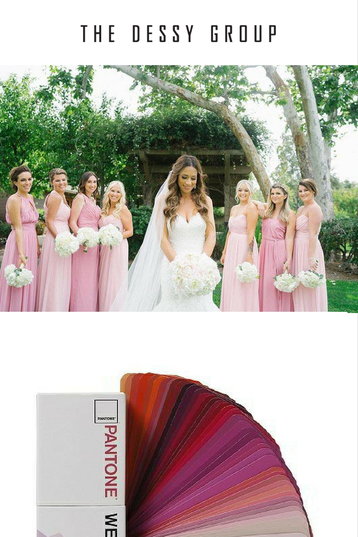 Ombre bridesmaids dresses and other ombre wedding delights bridesmaid dresses above by dessy styles and colors 2906 carnation 2908 blush 2905 carnation 2882 blush 2928 blush 6678 carnation 2896 blush ombrellifo Gallery