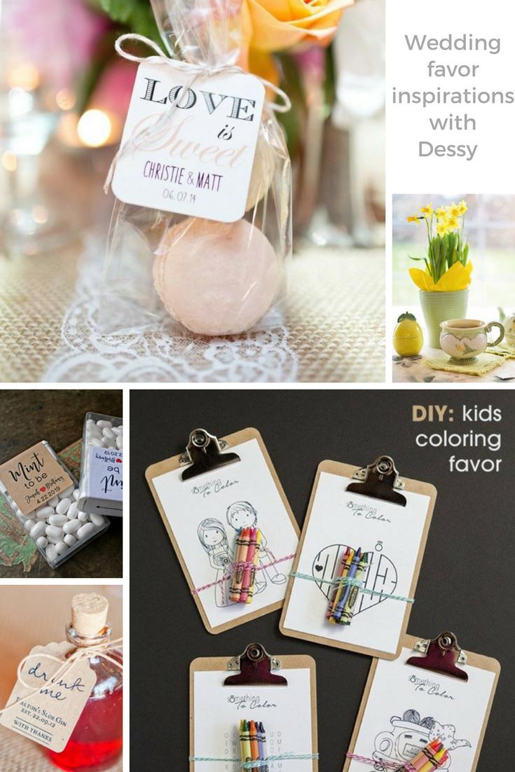 Wedding favors - DIY or don't DIY? What