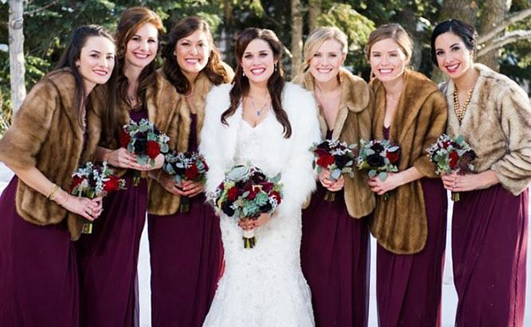 jewel tones for fall or winter weddings