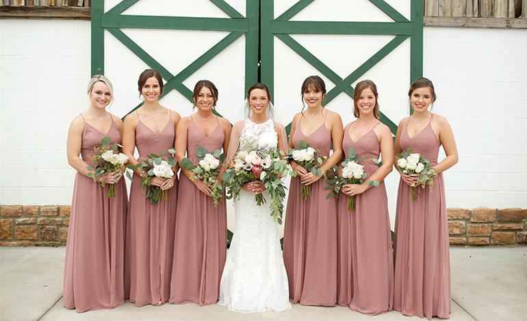 241067789368 Farmhouse Wedding Planning: Choosing Rustic Bridesmaid Dresses ...