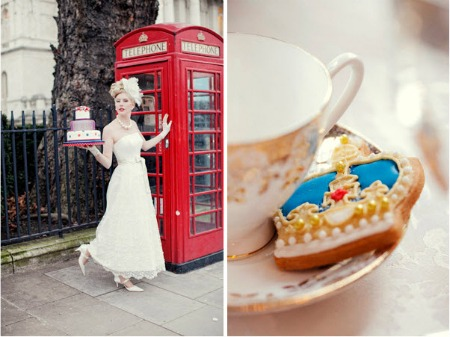 London Wedding Theme Very Cool Britannia Very Red White And Blue