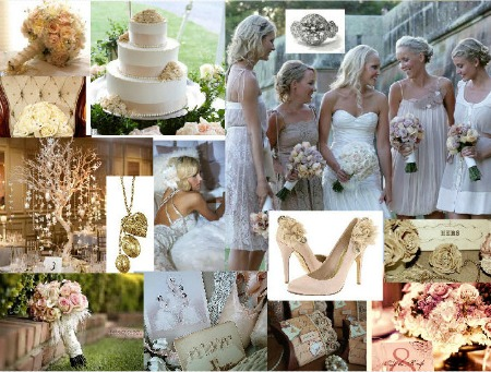 Vintage style wedding  Why you should create a wedding moodboard