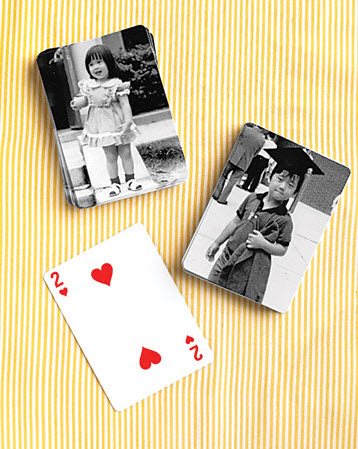 Wedding Favour Idea Personalised Playing Cards