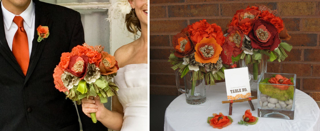 13 Fabric Flower Bouquets that Look Oh So Real