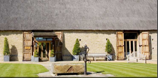 The Tythe Barn wedding venue in Oxfordshire