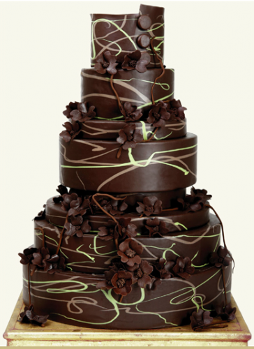 dark chocolate wedding cakes some chocolate wedding cakes to tempt you 13339