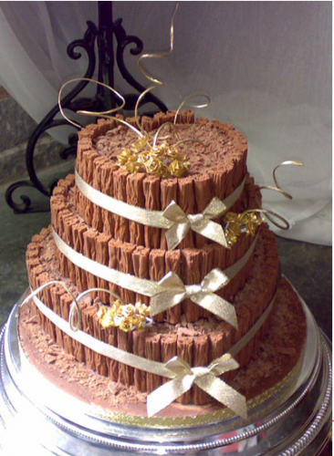 Heart Shaped Chocolate Cake Decorating Ideas : Some Chocolate Wedding Cakes To Tempt You