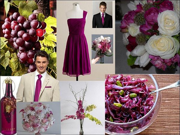 Red wine wedding colors junglespirit Images