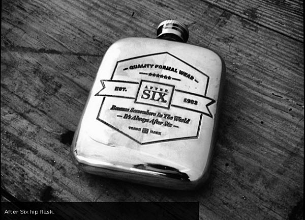 After Six Flask - The Perfect Groomsmen Gift