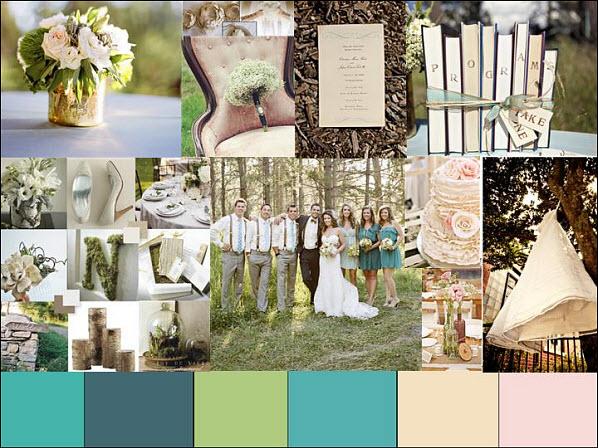 Outdoor vintage wedding theme the image for Outdoor wedding theme ideas