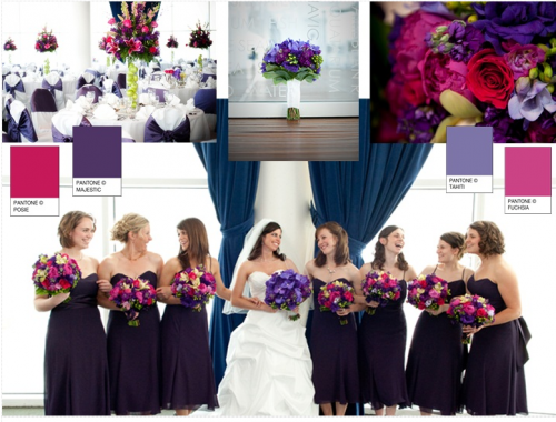 Ideas for winter wedding colours winter wedding colours in deep purples junglespirit Images