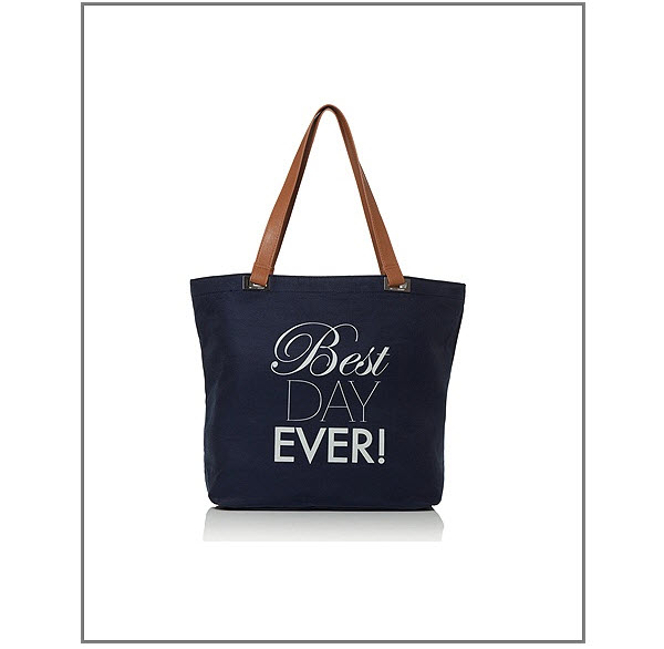 Bridesmaid Gift Idea: Dessy's 'Best Day Ever' Tote