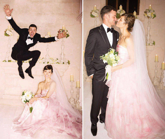 A Guide To Blush Weddings