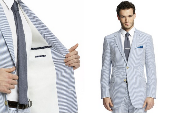 Men's Summer Suits as Featured on Style Me Pretty
