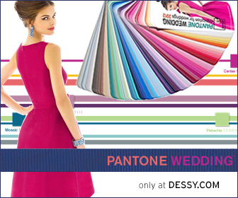 The Dessy Group- PANTONE®- PANTONE WEDDING- PANTONE WEDDING™