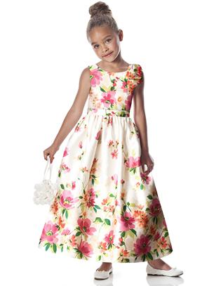 flowergirl dress for garden wedding