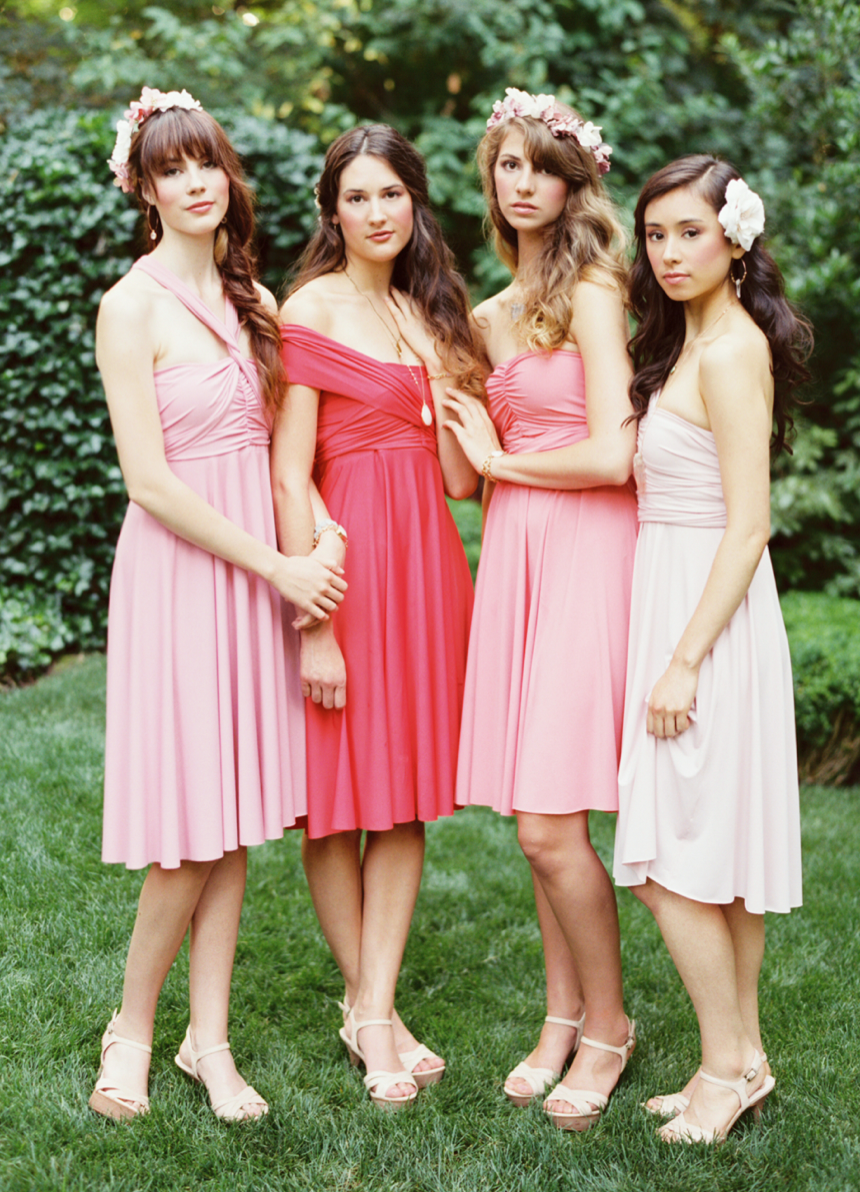 What\'s the right neckline for YOUR bridesmaid?