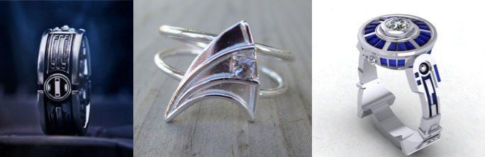 Geeked Out Engagmenet Rings For TechSavvy Couples