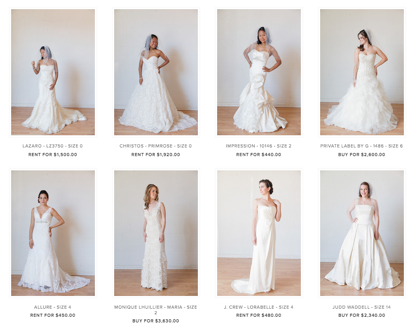 Borrowing Magnolia - Luxury Bridal Gown Rentals