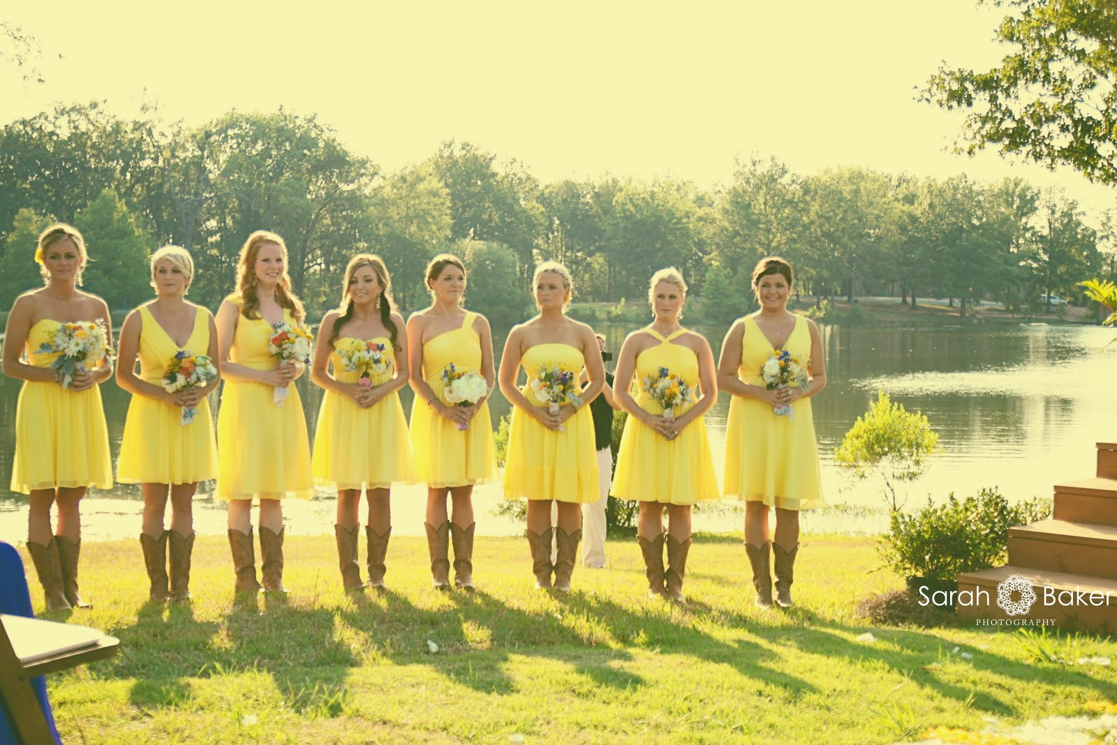 SPOTLIGHT ON: Bridesmaid Dresses in Pantone Buttercup