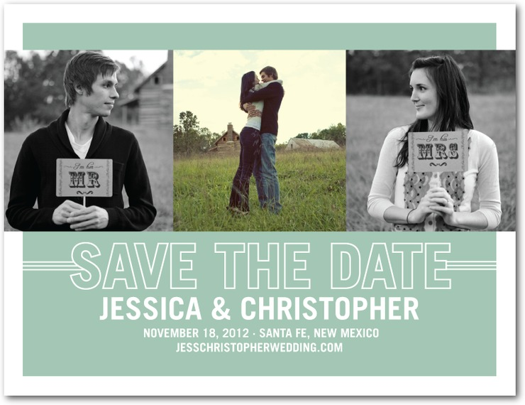 POST CARD SAVE THE DATE