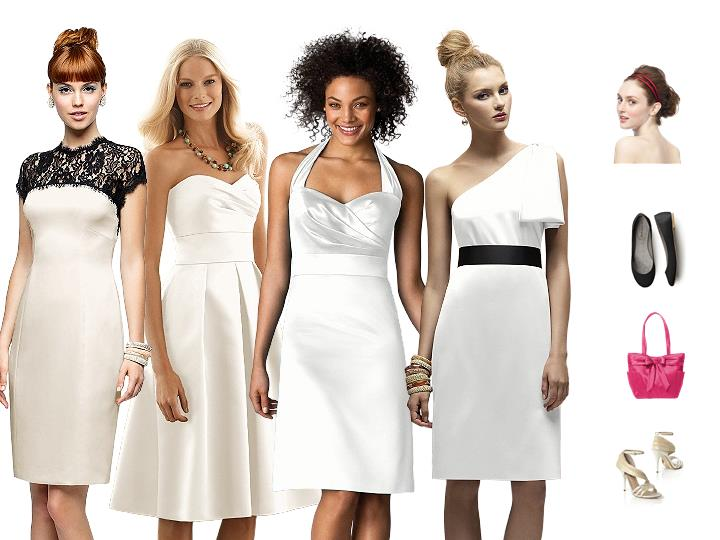 the perfect white dress for your bridal shower