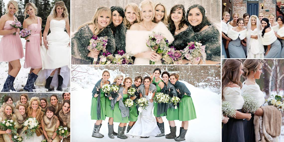 4 Must-Haves for a Winter Wedding Look