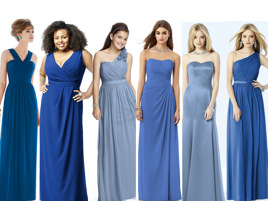 Which blue for your bridesmaids ombrellifo Images