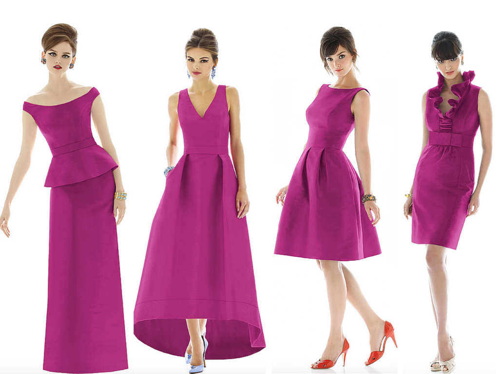 Frocks That Play To Your Bridesmaids\' Best Features
